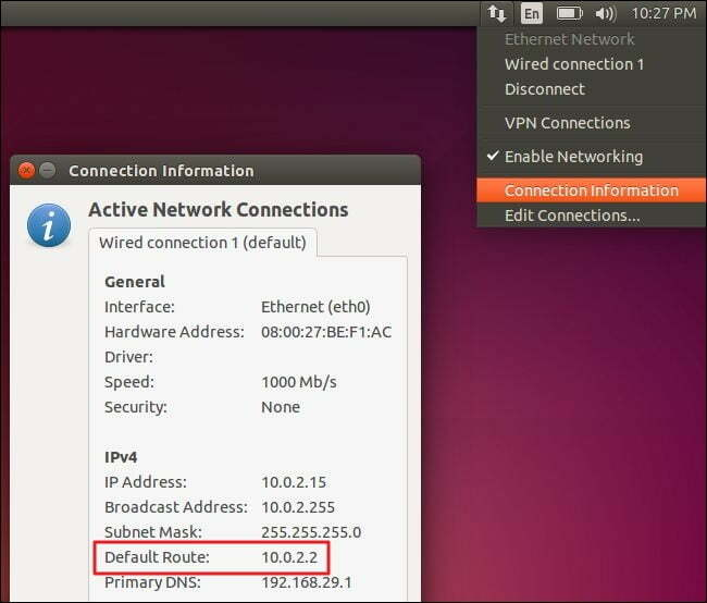 Find Router's IP Address in Linux