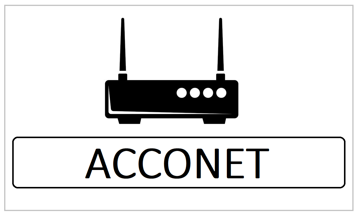 ACCONET Router Admin Login & Password Change