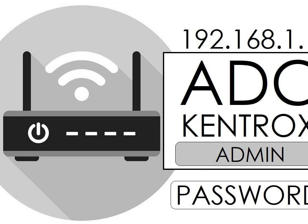 192.168.1.1 ADC Kentrox Router Admin Login & Password Change