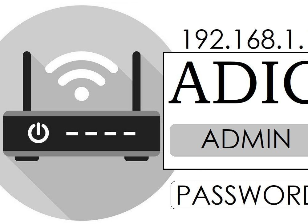 192.168.1.1 ADIC Router Admin Login & Password Change