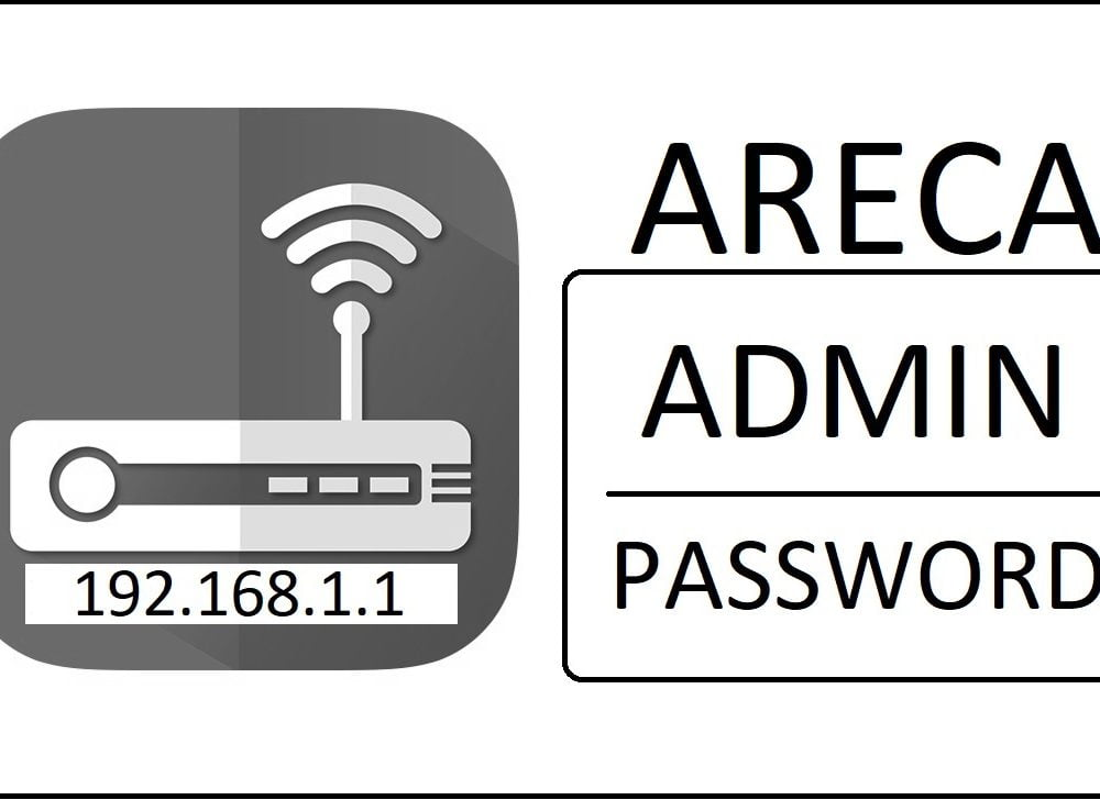 192.168.1.1 Areca Router Admin Login Password Change
