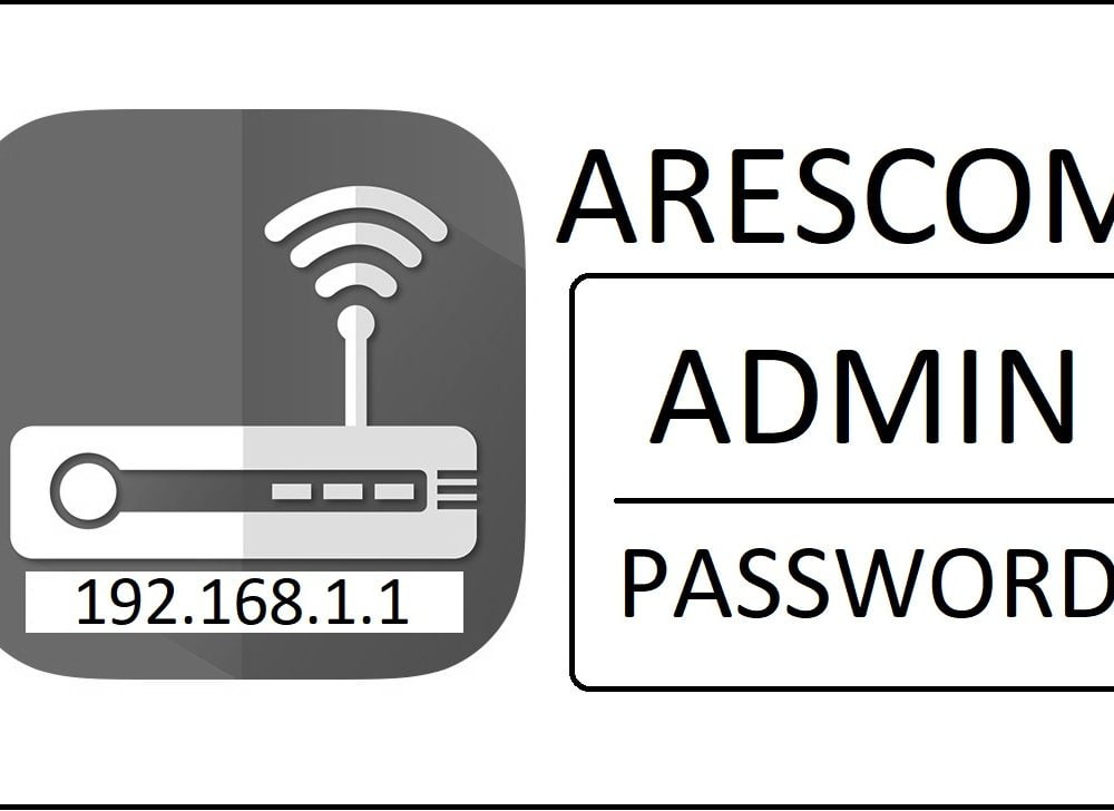 192.168.1.1 Arescom Router Admin Login Password Change