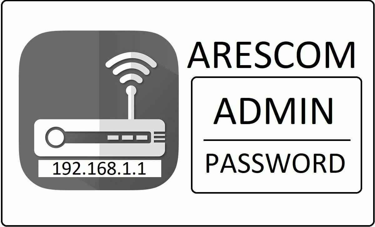 Arescom Router Admin Login Password Change