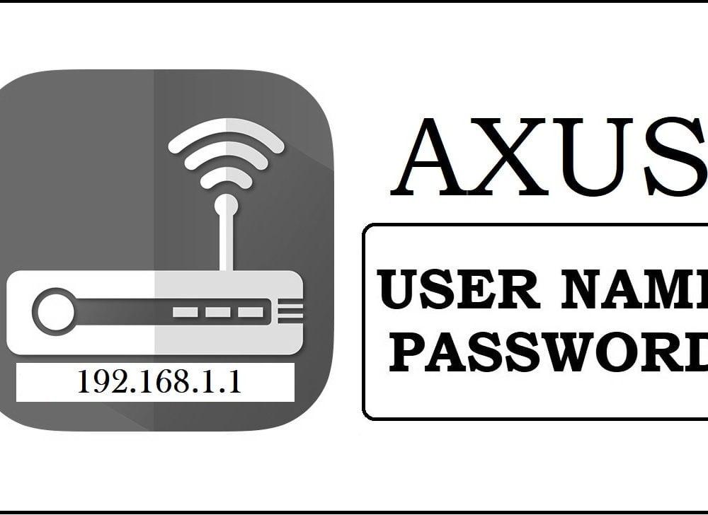 192.168.1.1 AXUS Router Admin login, Password Change