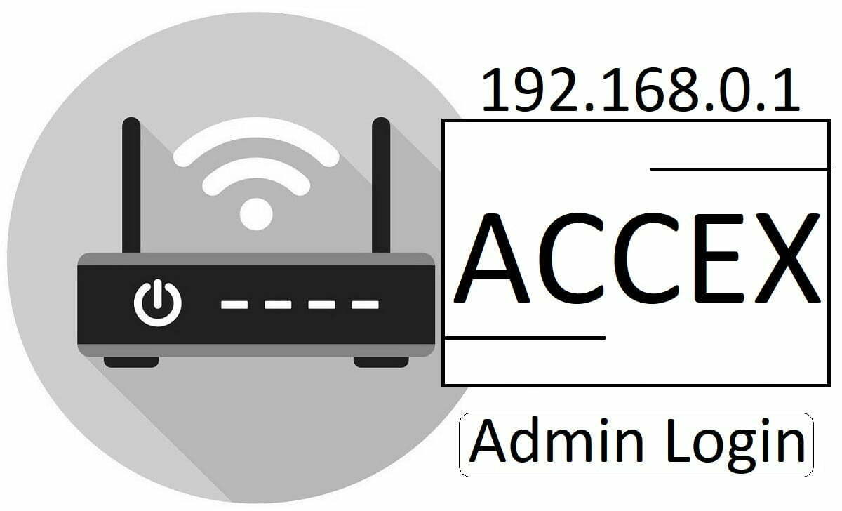 192.168.0.1 Accex WiFi Router Admin Login