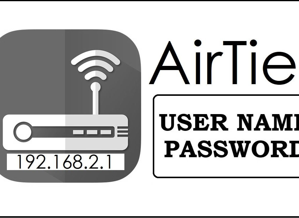 192.168.2.1 Airties Router Admin login, Password Change