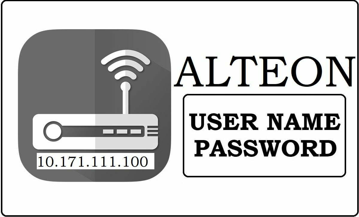 10.171.111.100 Alteon Router Admin Login Password Change