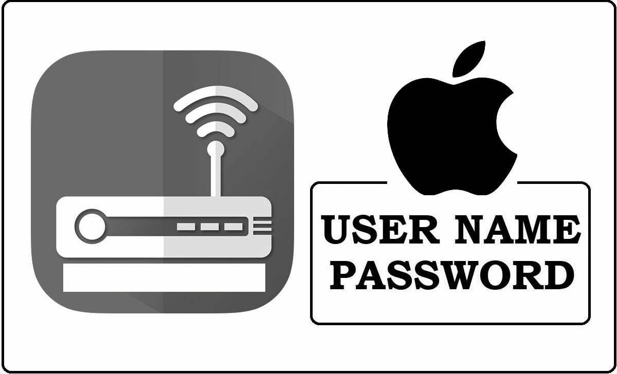Apple Router Admin Login Password Change