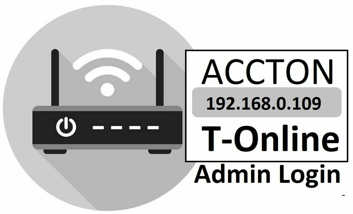 192.168.0.1.109 Accton T-Online Router Admin Login