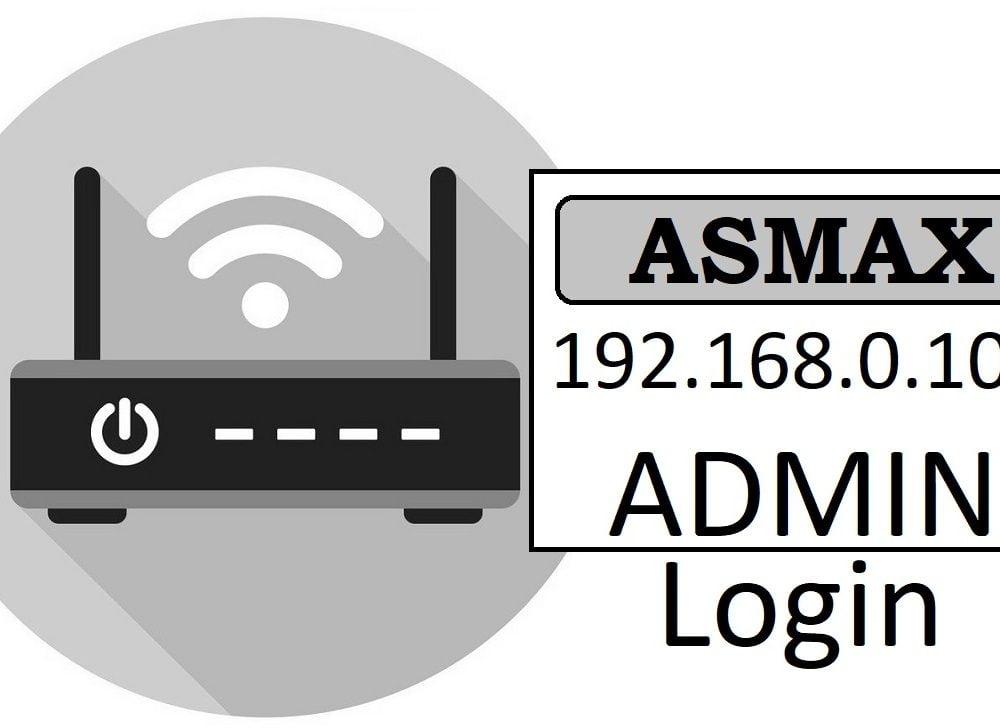 192.168.0.102 Asmax Router Admin Login & Password Change