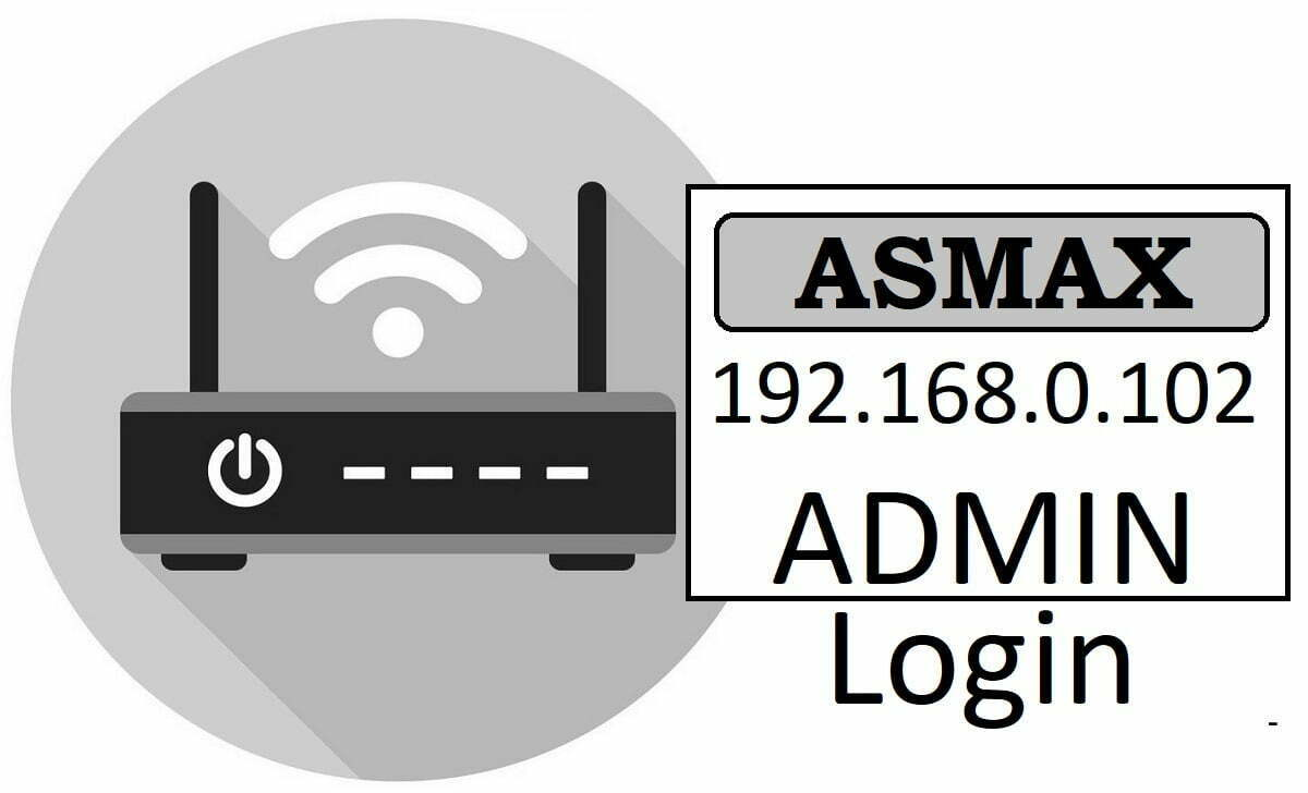 Asmax Router Admin Login & Password Change