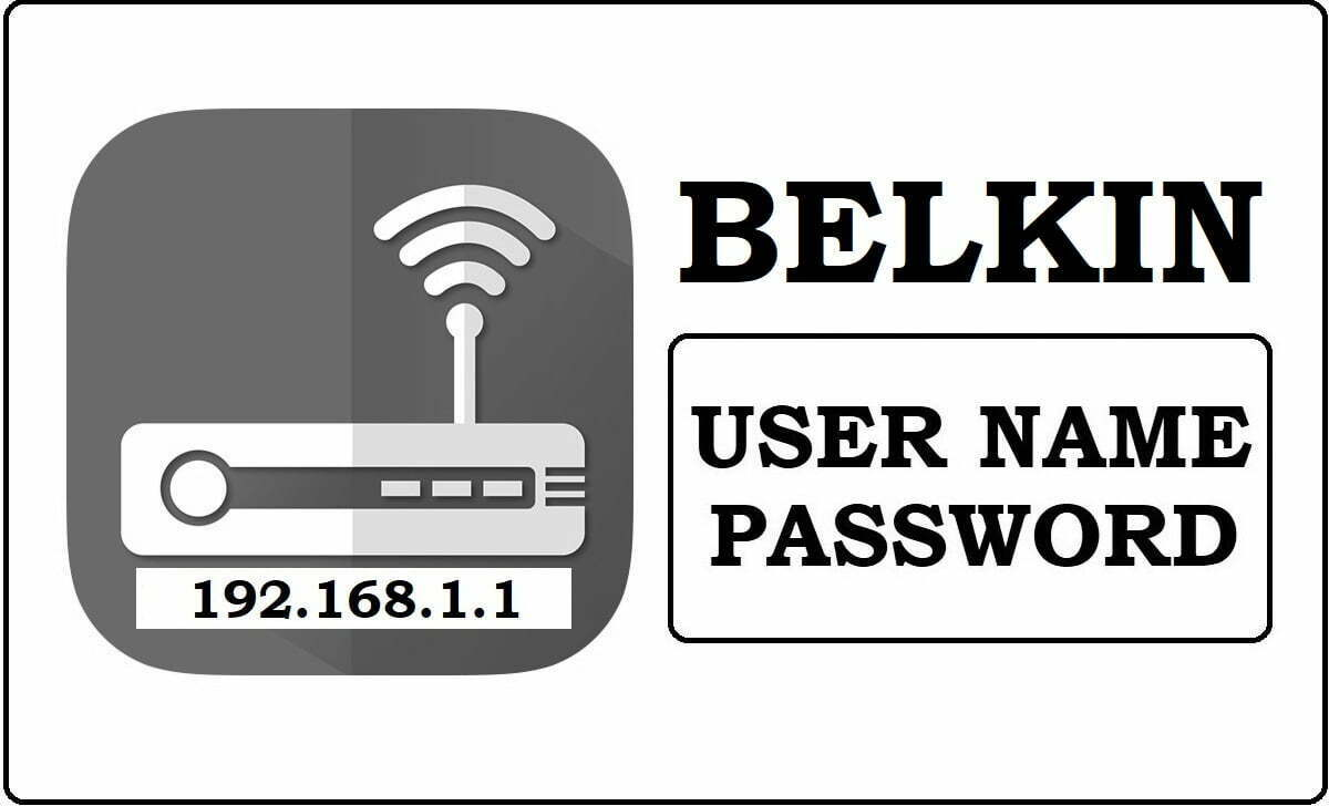 192.168.1.1 BELKIN Router Admin Login Password Change