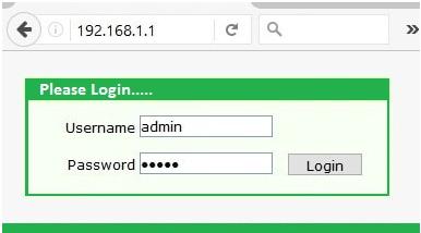 192.168.1.1 Admin Login
