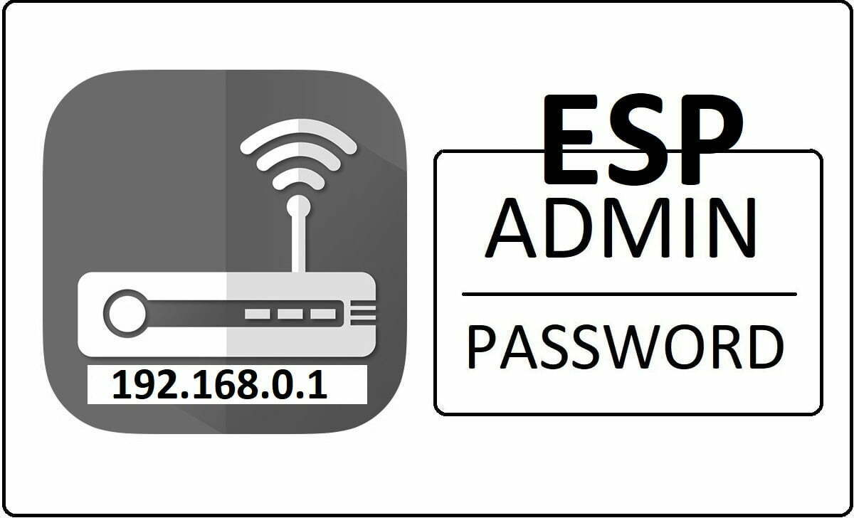ESP Router Admin Login Password Change