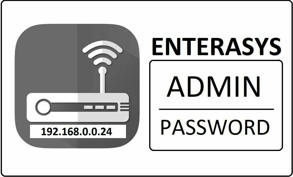 192.168.0.0.24 Enterasys Router Admin Login Password Change