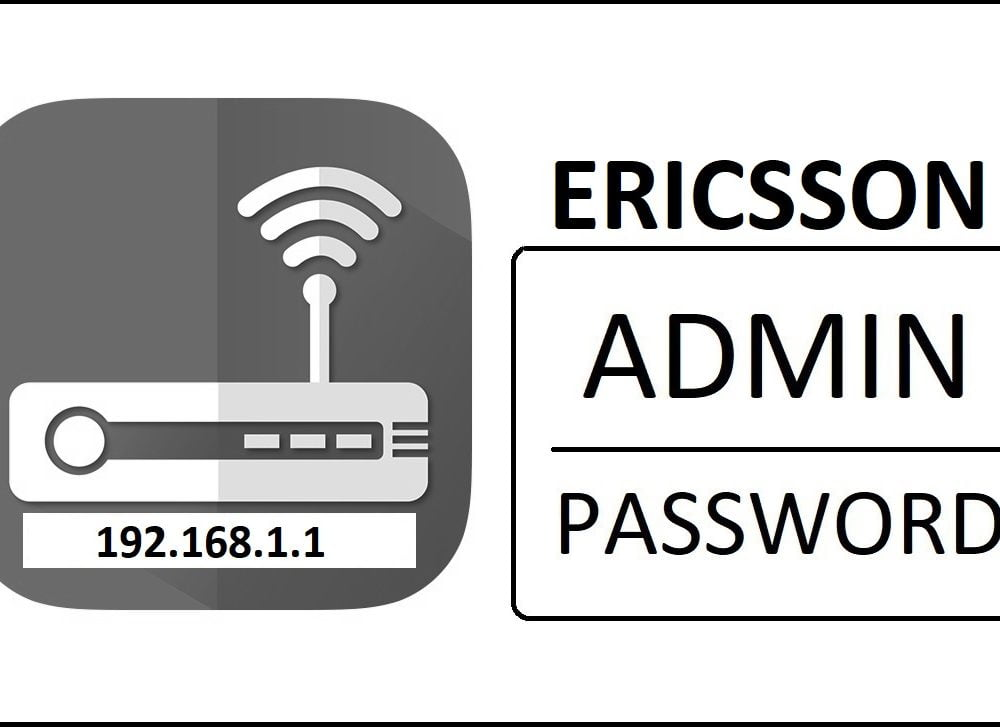 192.168.1.1 Ericsson Router Admin Login Password Change