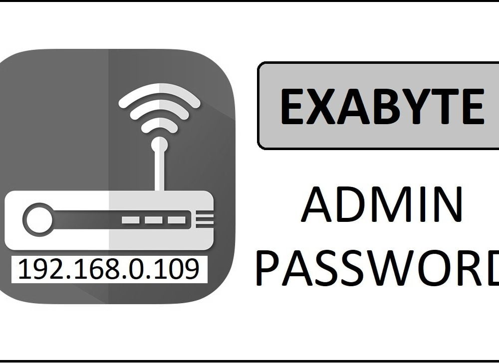 192.168.0.109 Exabyte Router Admin Login Password Change