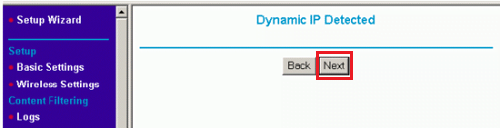 Exabyte Router Dynamic IP Detected