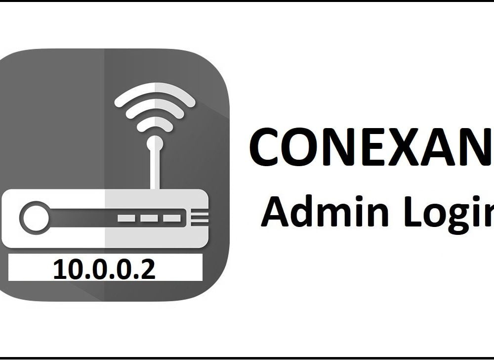 10.0.0.2 Conexant Router Admin Login Password Change