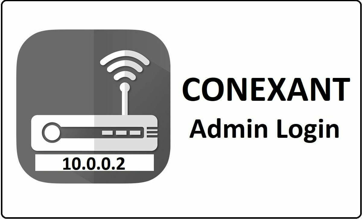 Conexant Networks Router Admin Login Password Change