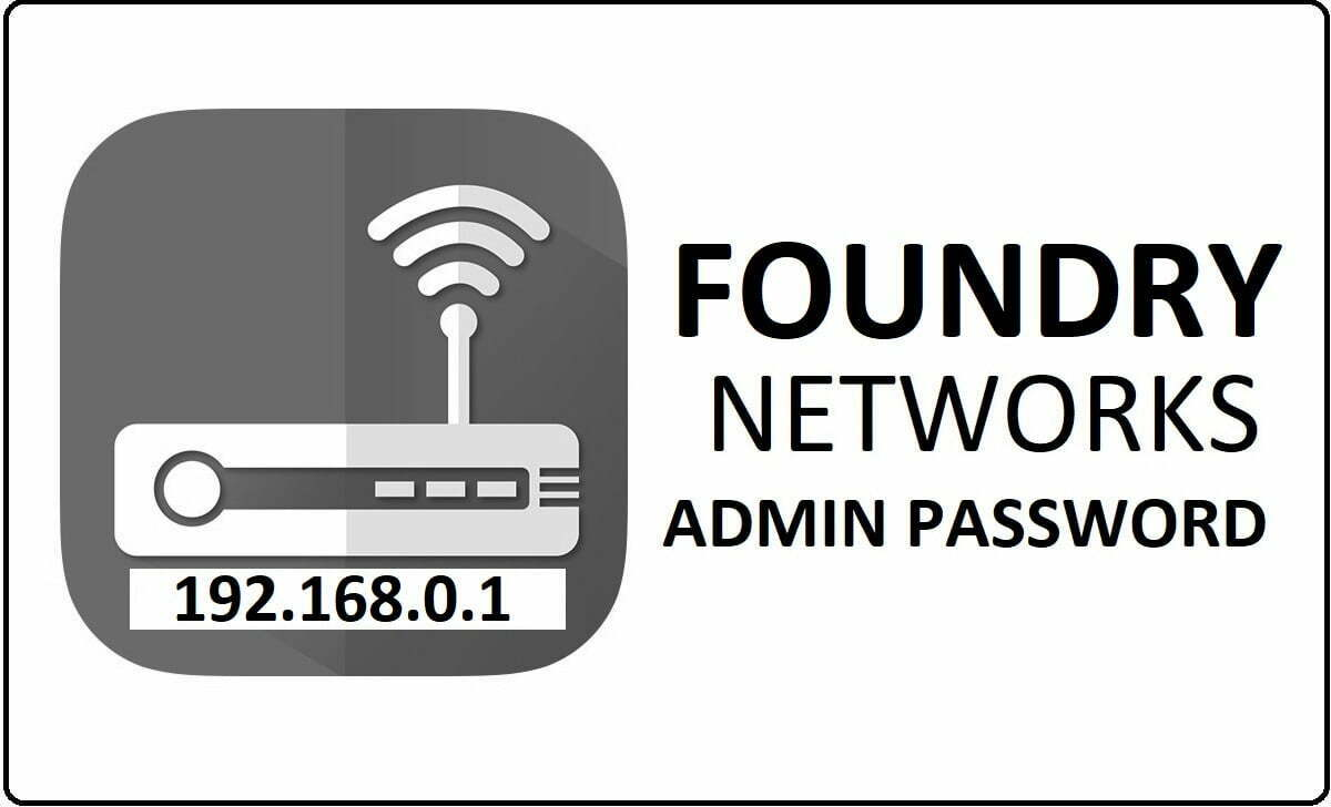 Foundry Networks Router Admin Login Password Change