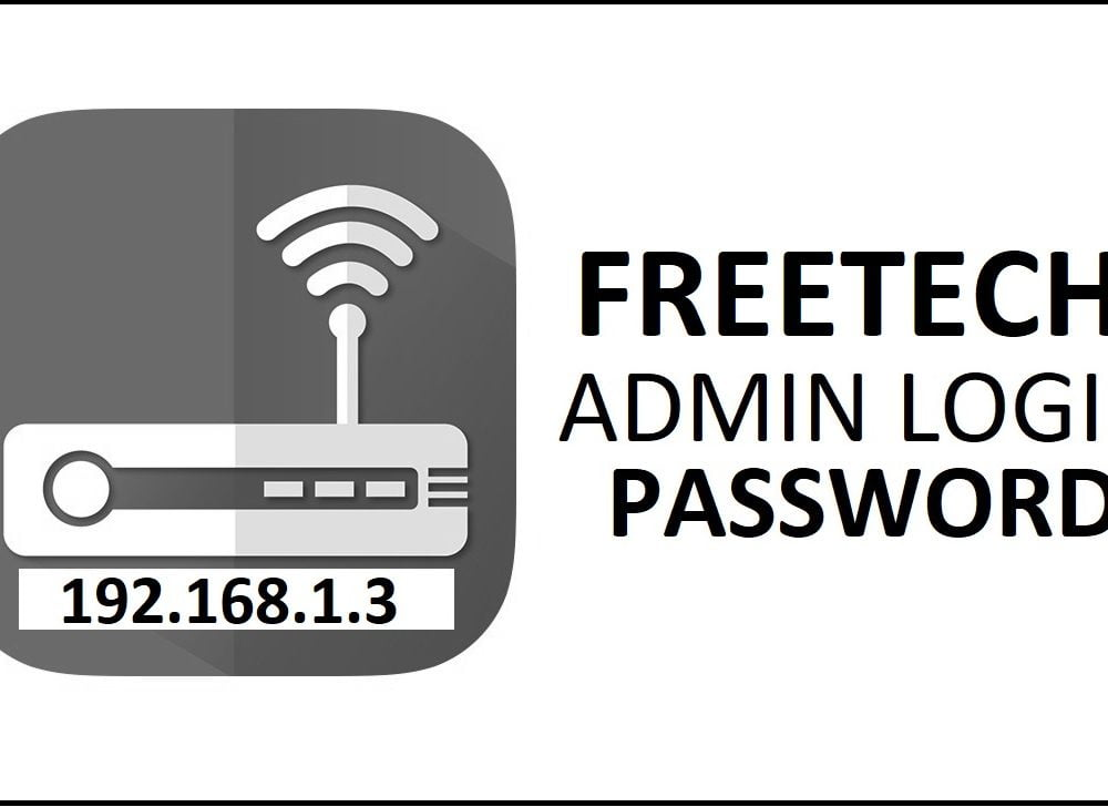 192.168.1.3 Freetech Router Admin Login Password Change