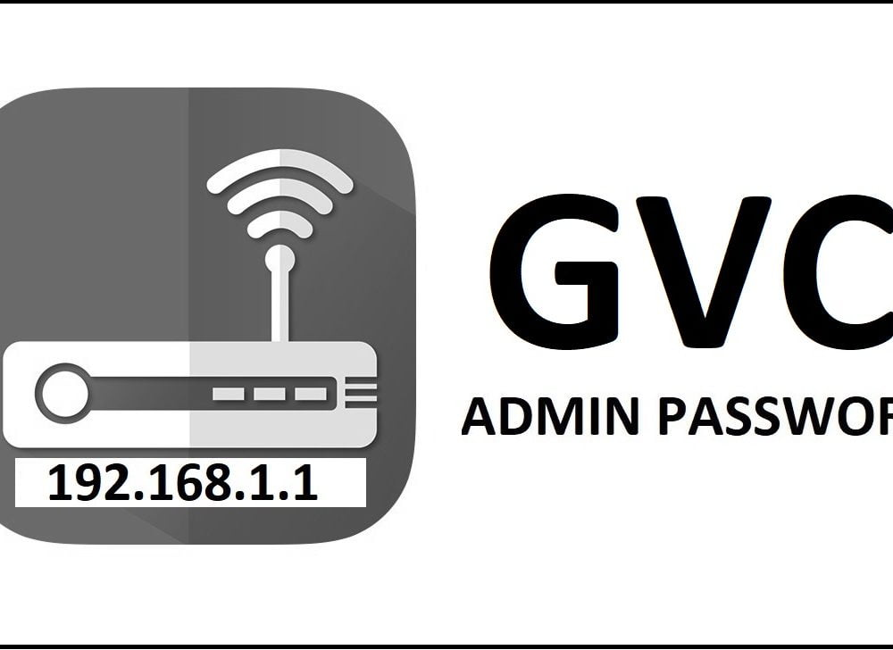192.168.1.1 GVC Router Network Settings Password Change
