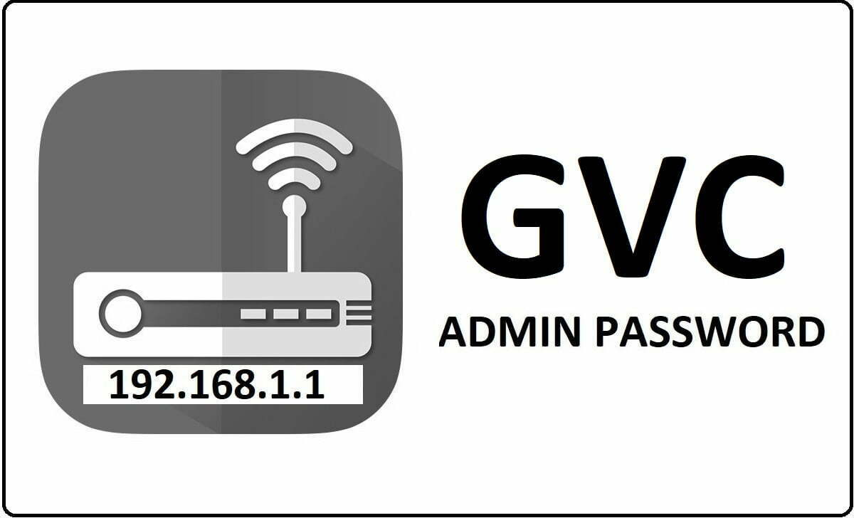 GVC Router Admin Login Password Change