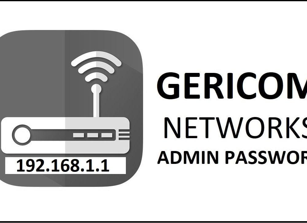 192.168.1.1 Gericom Router Admin Login Password Change