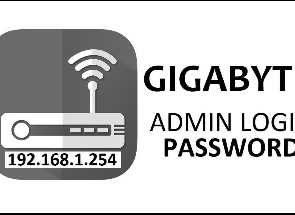 192.168.1.254 Gigabyte Router Admin Login Password Change