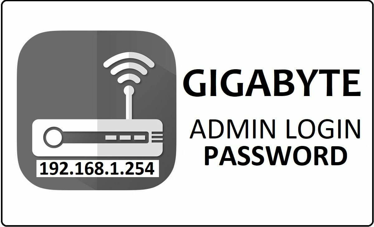 Gigabyte Router Admin Login Password Change