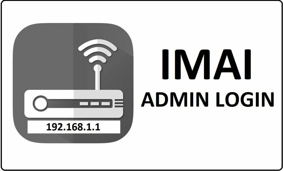 IMAI Router Admin Login