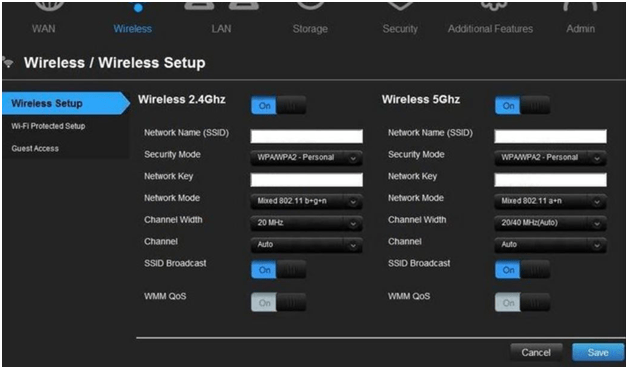 lhoi Router Wireless Setup