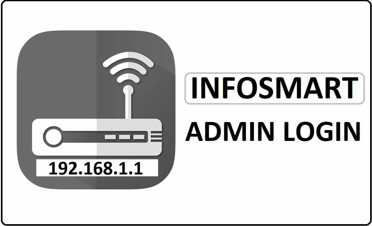 Infosmart Router Admin Login Password Change
