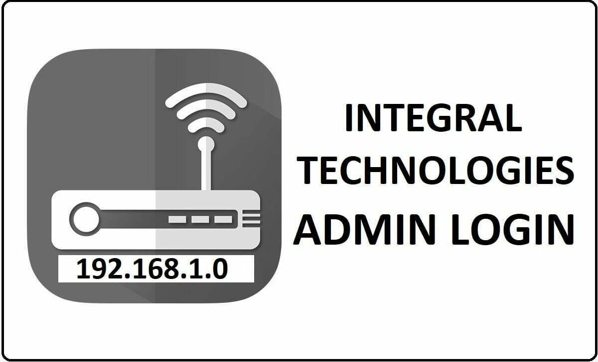 Integral Router Admin Login Password Change