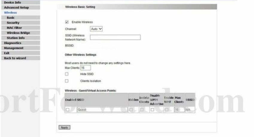 Integral Technologies Router Wireless Security Settings