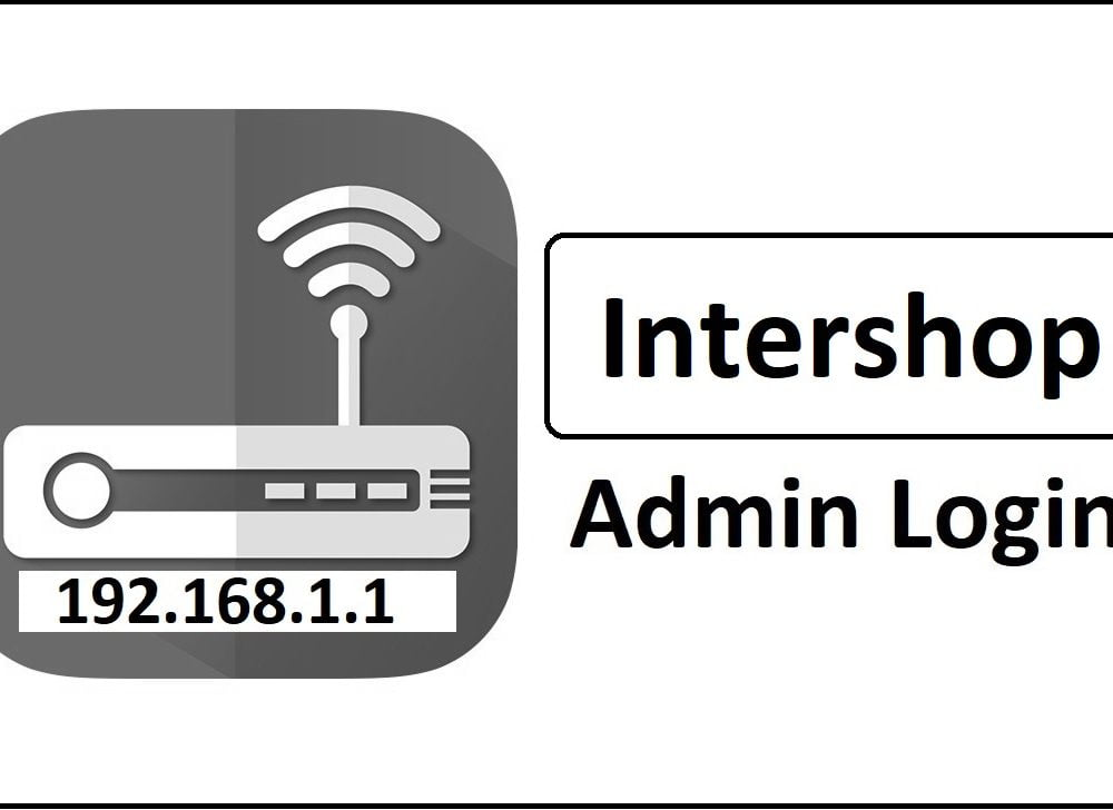 192.168.1.1 Intershop Router Admin Login Password Change