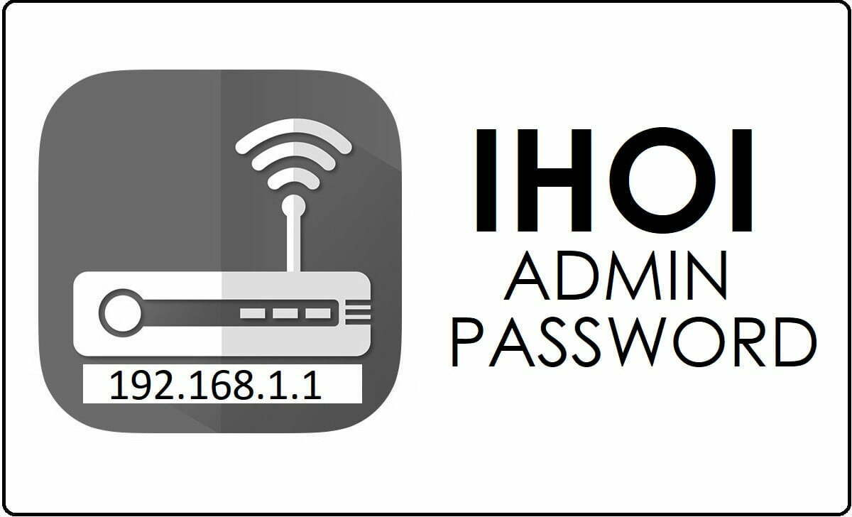 IHOI Router Admin Login Password Change