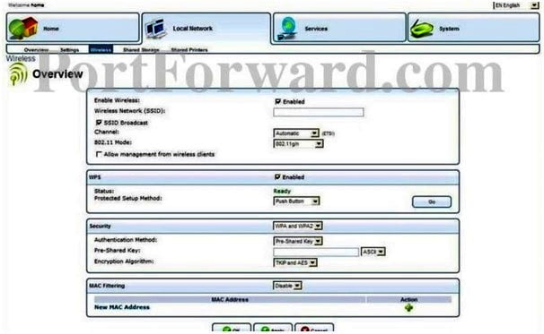 Freetech Networks Router Wireless Settings