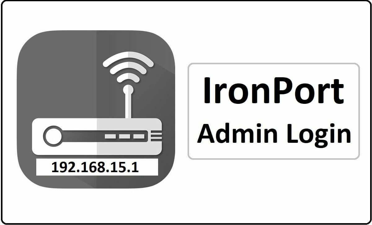 IronPort Router Admin Login Password Change