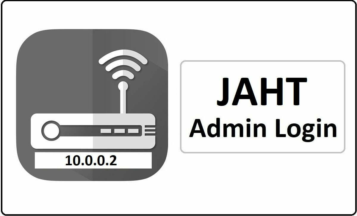 JAHT Router Admin Login Password Change