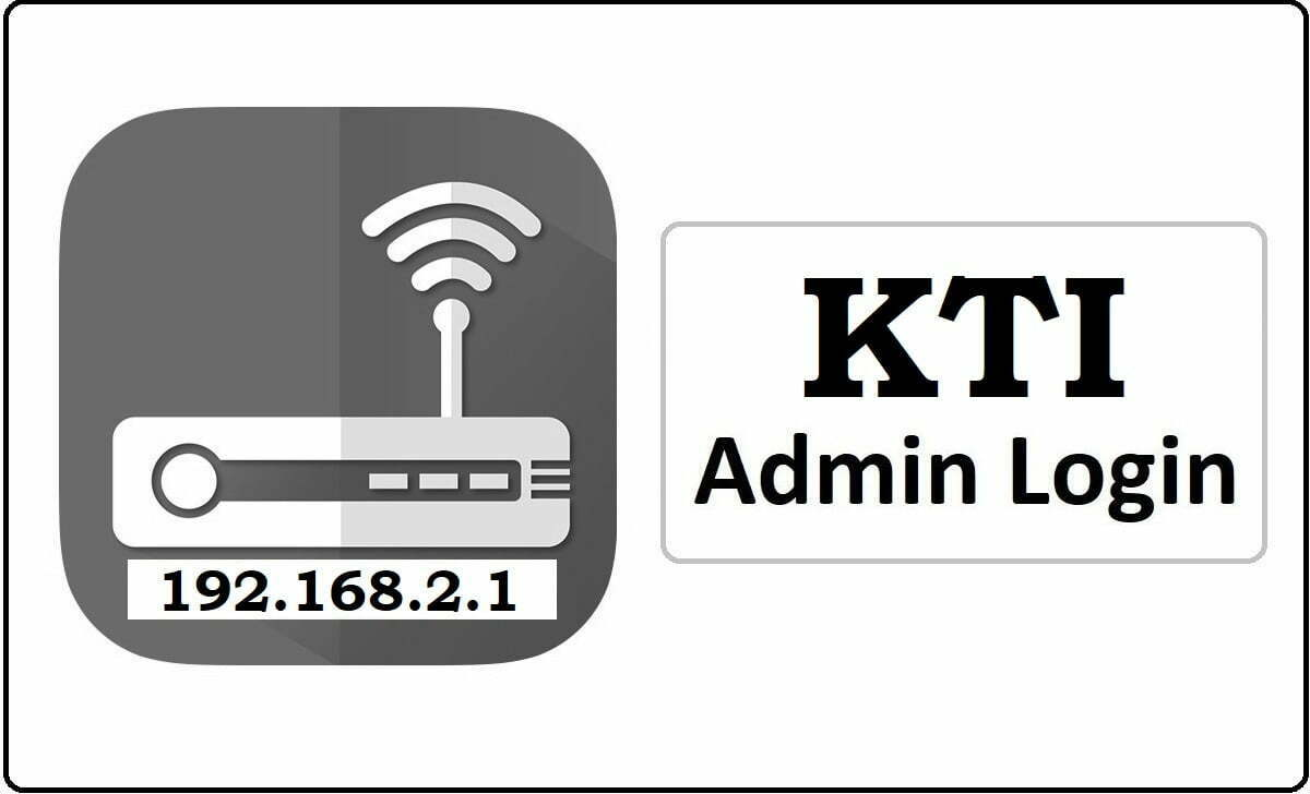 KTI Router Admin Login Password Change