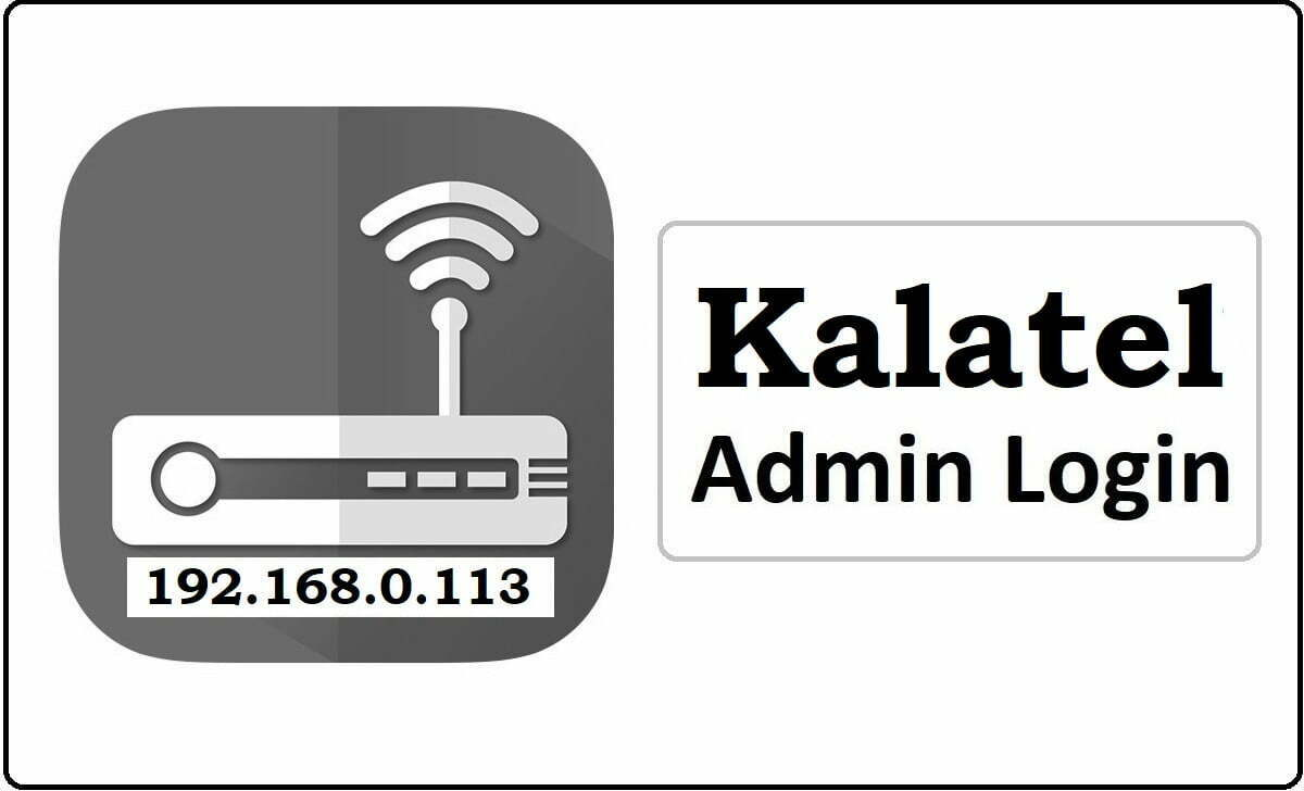 Kalatel Router Admin Login Password Change