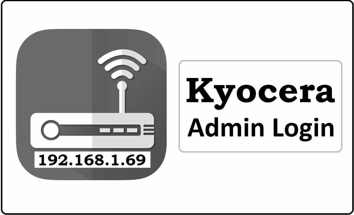 Kyocera Router Admin Login Password Change