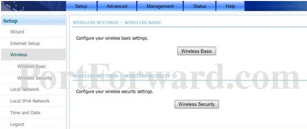 LANCOM Router Wireless Settings