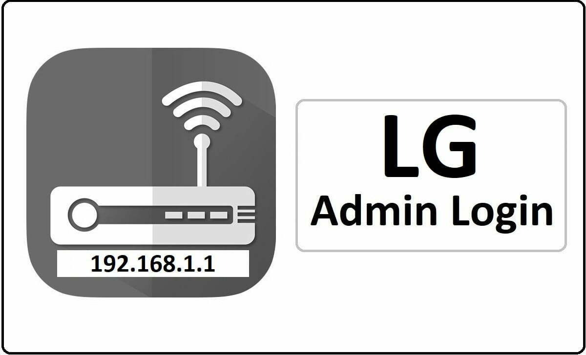 LG Router Admin Login Password Change