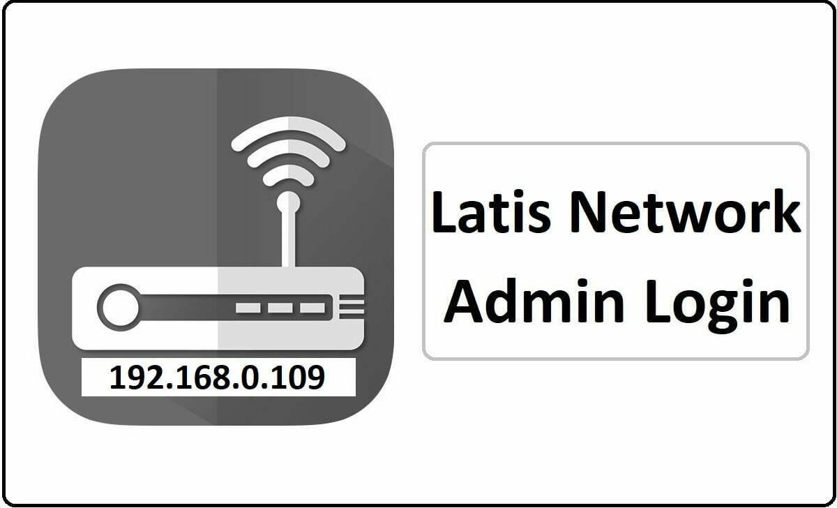 Latis Network Router Admin Login Password Change