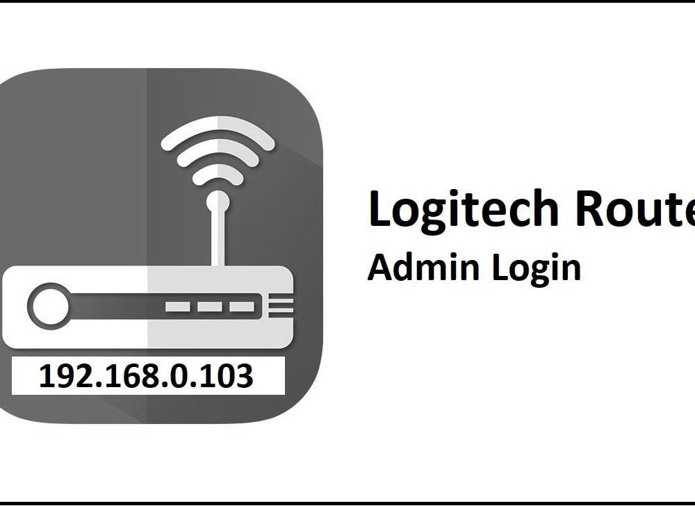 192.168.0.103 Logitech Router Admin Login Password Change