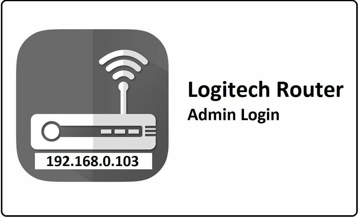 Logitech Router Admin Login Password Change