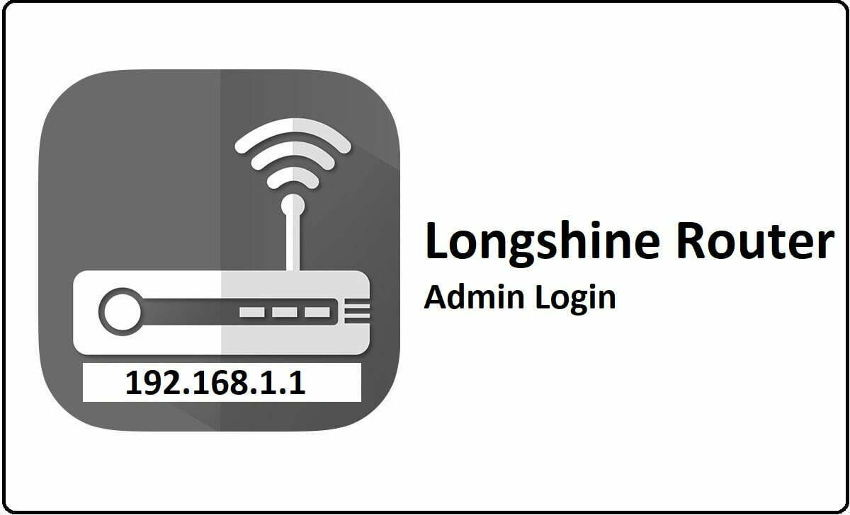 Longshine Router Admin Login Password Change
